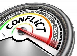 conflict meter
