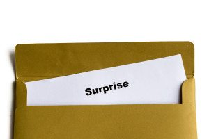 Surprise envelope