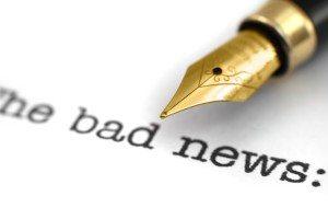 bad news script