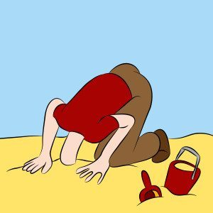 Head in sand